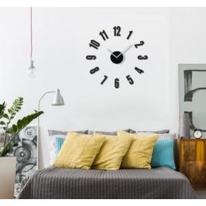 Moderní nalepovací hodiny do obýváku
