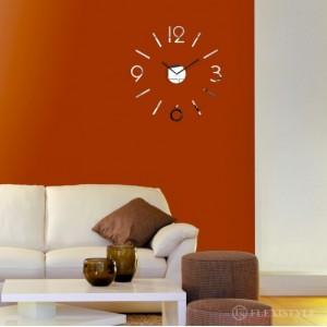 Zrcadlové hodiny do obýváku