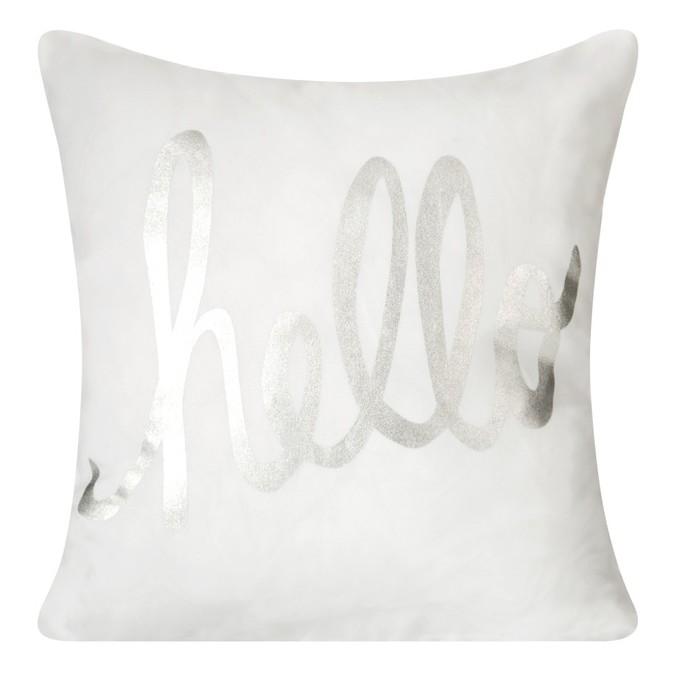 Hello dekorační bílé povlaky na polštáře