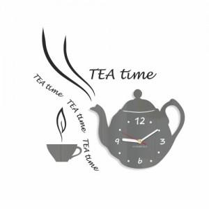 Dekorační kuchyňské hodiny Tea Time
