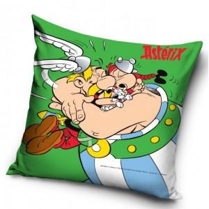 Zelené dětské povlaky na polštárky s motivem Asterix