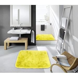 Žluté předložky do koupelny