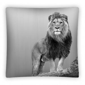 Dětský dekorační povlak na polštářek s lvem