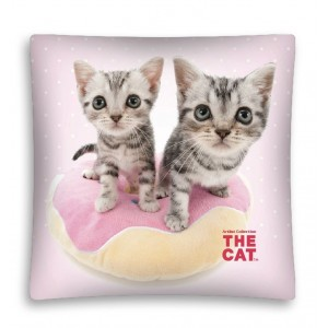 Dětské dekorační povlaky s kočičkami