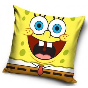 Žlutý dětský povlak na polštář s motivem Spongebob