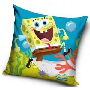 Spongebob modrý dětský povlak na polštářek