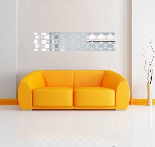 Dekorační zrcadlo do obývacího pokoje