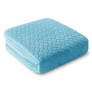 Tyrkysova deka na postel