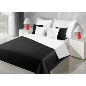 Elegantní oboustranné povlečení na postel v černé barvě