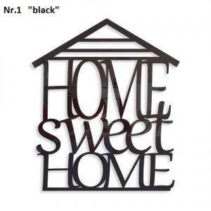 Home sweet home dekorační nápis na stěnu